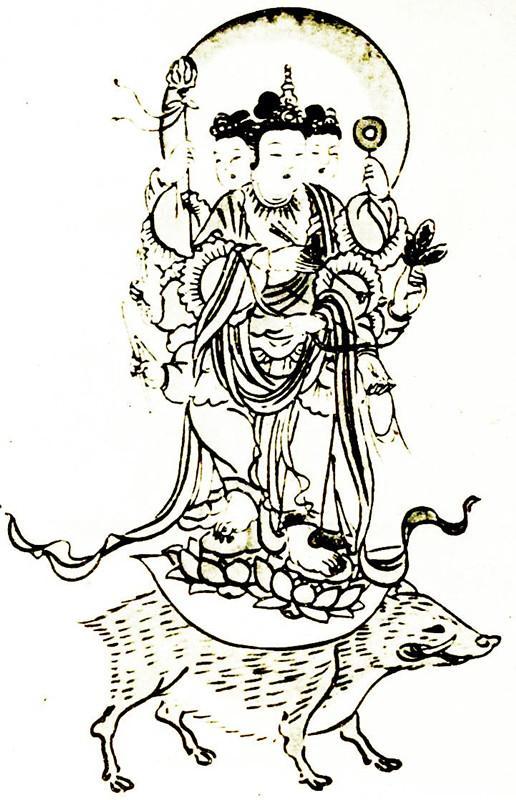 融合佛道,四头八臂的斗姆及其信仰发展